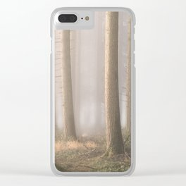 Into the Mist Clear iPhone Case