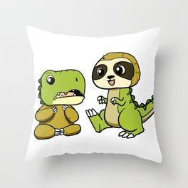 Party Fish Throw Pillow