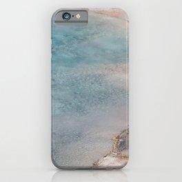Geyser Blue - Yellowstone Photography iPhone Case