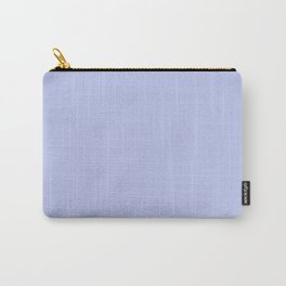 Kiss of Spring ~ Periwinkle Coordinating Solid Carry-All Pouch
