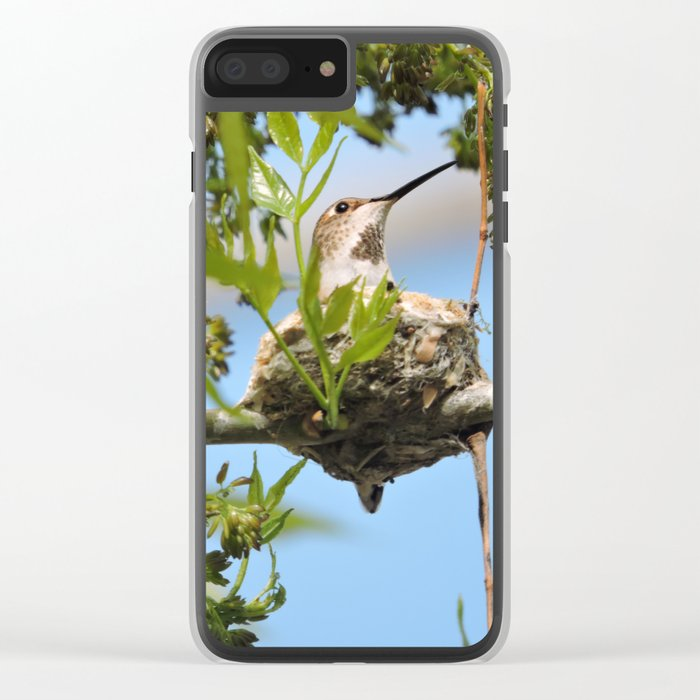Hanging Out Over B Street Clear iPhone Case