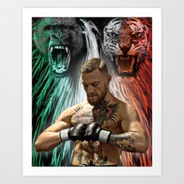 Conor McGregor - Beasts Within Art Print