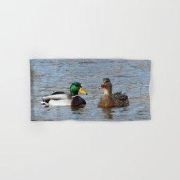 A Pair of Mallard Ducks Hand & Bath Towel