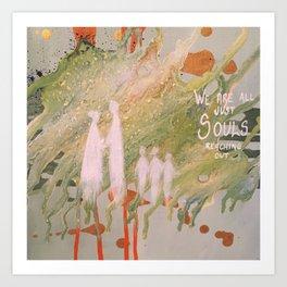 Just souls Art Print