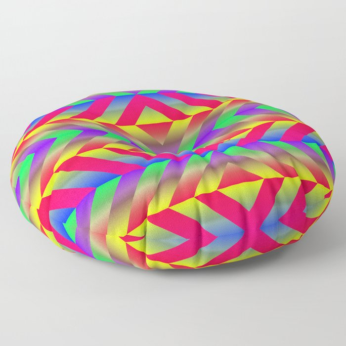 Psychedelic Floor Pillow