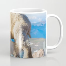 Mountain Goats Nanny And Kid Coffee Mug