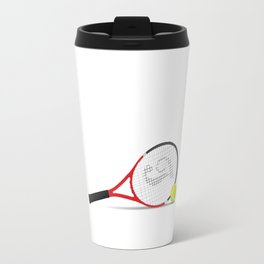 1% Talent 99% Work Tennis Sports T-shirt Travel Mug