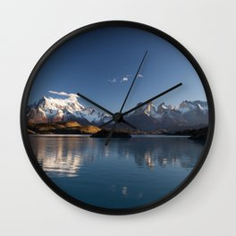 Torres Del Paine Patagonia Chile Wall Clock