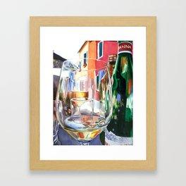 Burano Glass Framed Art Print
