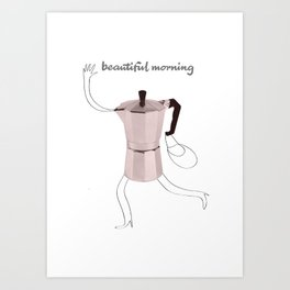 beautiful morning Art Print