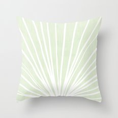 Dandelions in Mint by Friztin Throw Pillow