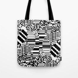 noisy pattern 10 Tote Bag