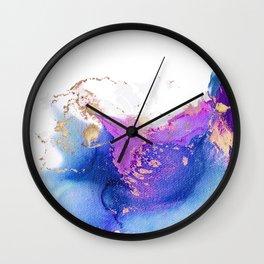 ABSTRACT DELIRIUM Wall Clock