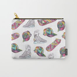watercolor back to the future 2 Carry-All Pouch