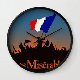 Les Miserables Wall Clock