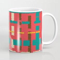 Colorful line segments Mug
