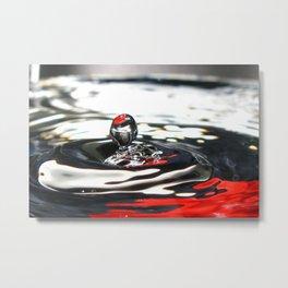 Water drop Metal Print