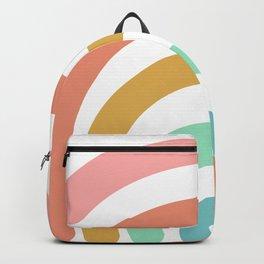 Rainbow Paint Backpack