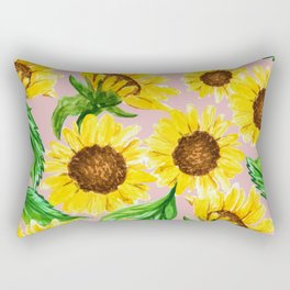 Sunny #society6 #decor #buyart Rectangular Pillow