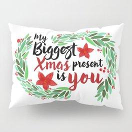 Merry Christmas Xmas Eve Holiday Season Santa Claus Navidad Regalo Present Gift Loved One Pillow Sham