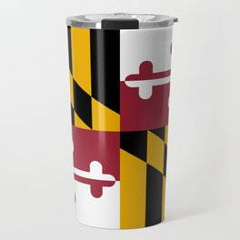 Maryland State Flag, Hi Def image Travel Mug