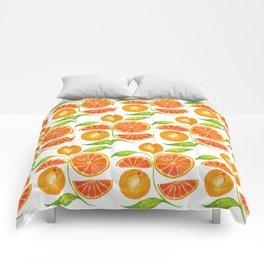 Juicy Grapefruits Comforters