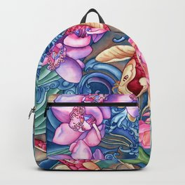 Orchid Splash Backpack