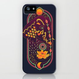 Lotus Elephant iPhone Case