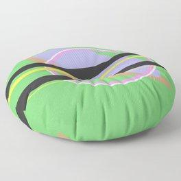 Pastel Simplicity - Minimalistic Design Floor Pillow