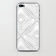 Black Lines iPhone & iPod Skin