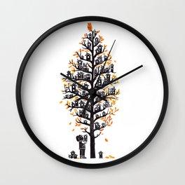 Hoot Lodge Wall Clock
