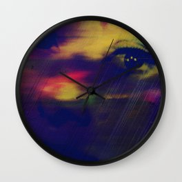 Burning Eyes 03 Wall Clock
