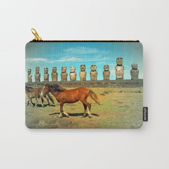 EASTER ISLAND SCENE Carry-All Pouch