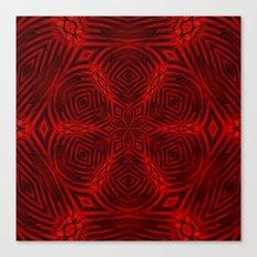Kaleidoscope 'K3 SQ' Canvas Print