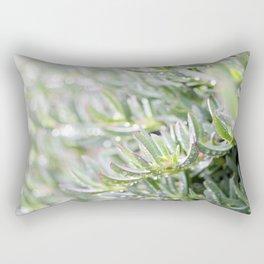 Succulent Plant Rectangular Pillow