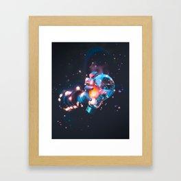 Colour Blast Framed Art Print