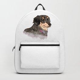 Miniature Dachshund Backpack