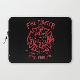 Fire Fighter Laptop Sleeve