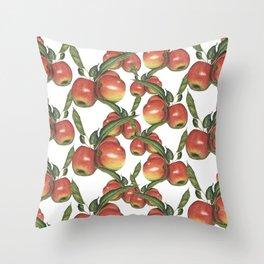 Hand Drawn Apple surface pattern deign Throw Pillow