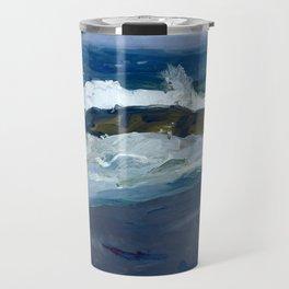 George Bellows - Rock Reef, Maine, 1913 Travel Mug