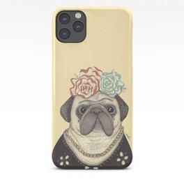 Frida Pug Kahlo iPhone Case