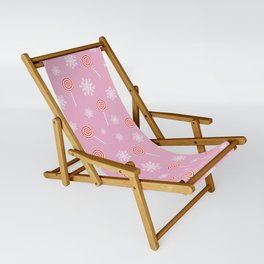 Winter lollipop design Sling Chair