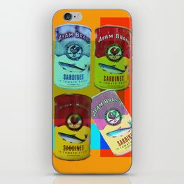 CANNED SARDINE iPhone Skin
