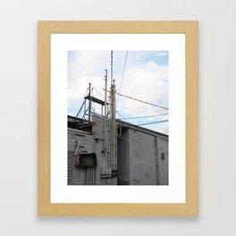 IDEK. Framed Art Print