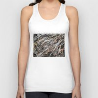 copper Tank Tops featuring Copper ore by Bruce Stanfield