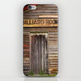 Billiard Room iPhone Skin