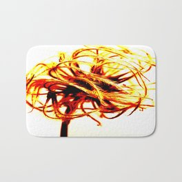 Abstract Seed Head Bath Mat