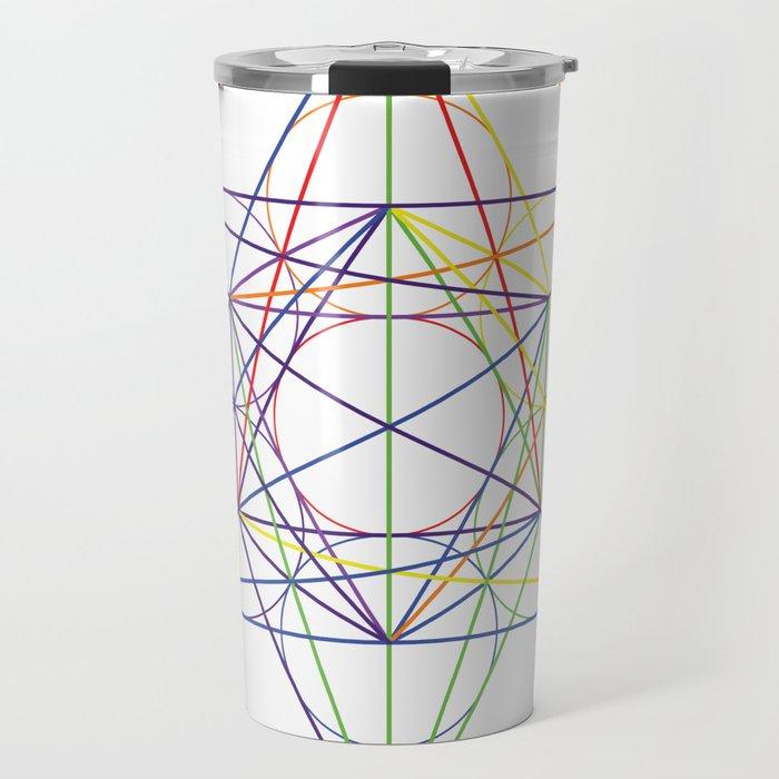 metatrons cube Travel Mug