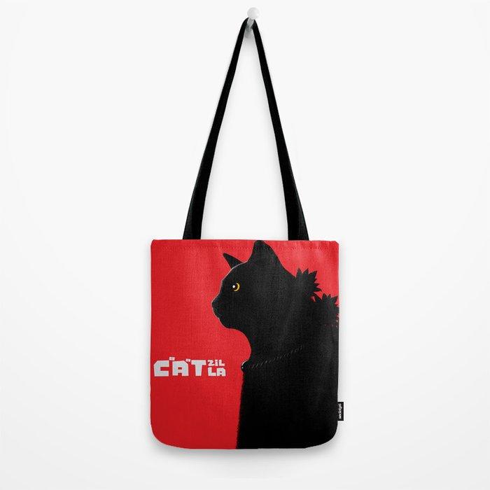Catzilla Tote Bag