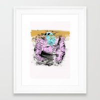 muscle Framed Art Prints featuring Muscle by Joshua Neal